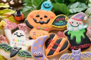 【10月のアイシングクッキー名古屋教室】 今年はかぼちゃが主役! ゆる可愛ハロウィンクッキー