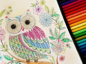 幸せを呼ぶといわれるふくろう。色のヒントを頼りに、あなたの幸せ呼び寄せ力をUPさせましょう。