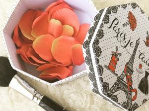 ラデュレ風花びらチーク 手作り化粧品