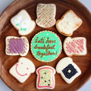 アレンジ自由自在!食パンクッキー、名古屋アイシングクッキー教室