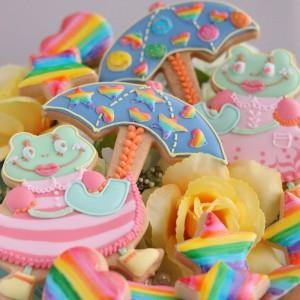 6月ピッピとプップのアイシングクッキーのテーマ