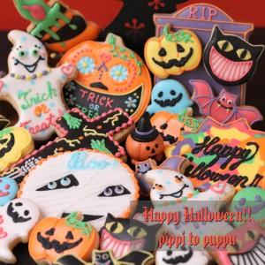名古屋アイシングクッキー教室10月はハロウィン