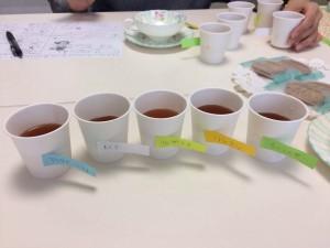 かなやま小町では、「紅茶教室」を開催