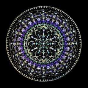 描く瞑想 点描曼荼羅