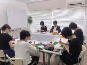 かなやま小町のゆる筆文字教室